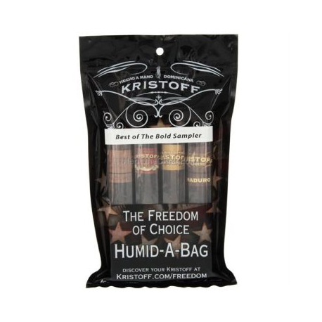 Kristoff Best of the Bold 4 cigar Humid-a-bag