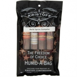 Kristoff Bold Spice 4-stick sampler Humid-a-bag