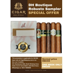 DH Cigar Sampler Robusto pack of 5