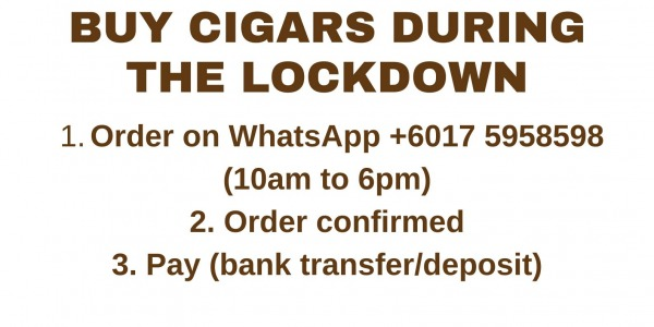 Get cigars during the lockdown
